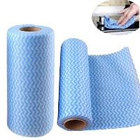 New Arrival Roll of 25pcs Multipurpose Roll Towel Non-woven Fabric Cloth Wiping Cleaning for Home...