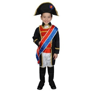 Napoleon Costume Set - Toddler T4 by Dress Up America [並行輸入品]