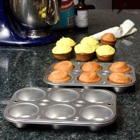 Party & Catering Supplies - Cooking Concepts 6-Cup Muffin & Cupcake Pans - 2 ct pack by Cooking...