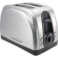 Brentwood Appliances TS-225S 2-Slice Toaster with Extra Functions, Stainless Steel by Brentwood...