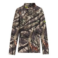 Under Armour Big Boys ' ColdGear Evo Camo Mock