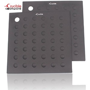 Pot Holders, Trivets, Spoon Rest, Jar Opener/Grips, Coaster, Extreme Heat Resistance, Thick &...