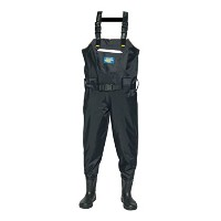 Fishing Chest Waders for Men with Cleated Bootfoot Hunting Waders釣りオーバーオール防水と通気性、サイズ11