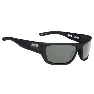 スパイ メンズ メガネ・サングラス【Dega Sunglasses】Soft Matte Black/ Happy Grey Green Polarized Lens