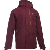 アンダーアーマー メンズ スキー・スノーボード アウター【Coldgear Infrared Revy Insulated Snowboard Jacket】Dark Maroon/...