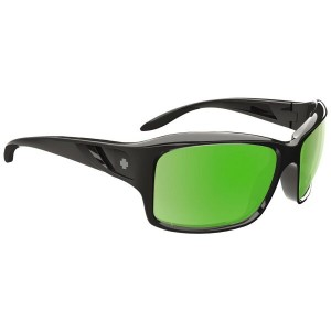 スパイ レディース メガネ・サングラス【Libra Sunglasses】Black/ Happy Bronze Polarized/ Green Spectra Lens