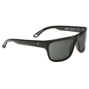 スパイ メンズ メガネ・サングラス【Angler Sunglasses】Black/ Happy Grey Green Polarized Lens