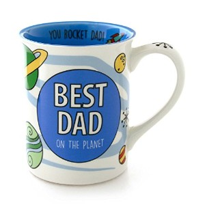 "Our Name Is Mud "" Best Dadスペース"" Stoneware Mug、16オンス"