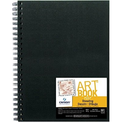 High Quality Series Field Drawing Book, 9X12 Wire Bound
