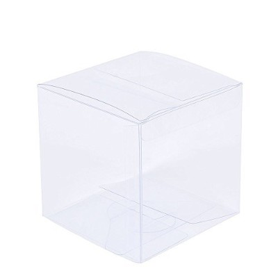 ZOOYOO Transparent Gift Box/Clear Plastic Box for Party favours, Weddings, Packaging - Rectangle...