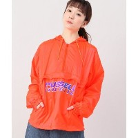 russell athletic packable anorak【ジョイントワークス/JOINT WORKS レディス ブルゾン・スタジャン オレンジ ルミネ LUMINE】