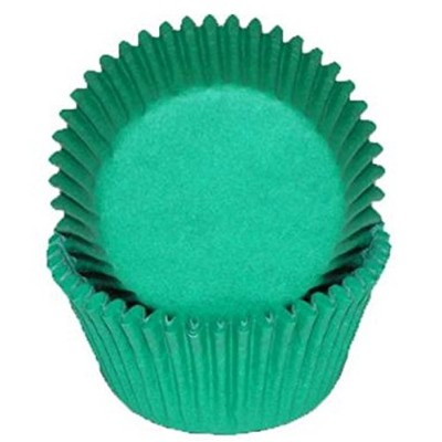 Oasis Supply 50 Count Baking Cups, Standard, Green