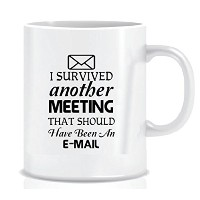 Yet Despite The Look On My Face You Are Still Talking–Coffee Mug inブルーリボンギフトボックス–11oz ブラック