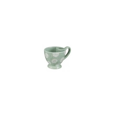 Polka Dot Teacups Withバッグホルダー グリーン 471353-GREEN