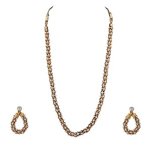 IndianネックレスKundanジュエリーIndian Jewellery Sets for Women d20