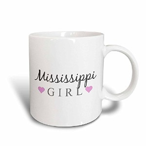 3dローズInspirationzStoreタイポグラフィ – Mississippi Girl – Home State Pride – USA United States of...