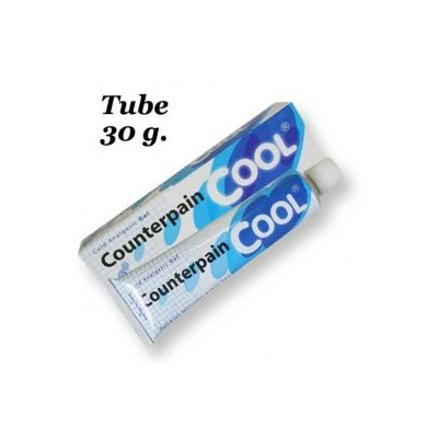 6 x 30 g Counterpain Cool Pain Relief Cold Analgesic Gel