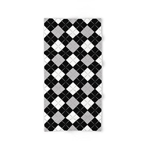 society6 Checkered背景Hand &バスタオル Bath Towel s6-6230358p52a68v453