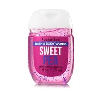 バス&ボディワークス ハンドジェル 29ml スウィートピー Bath&Body Works Anti-Bacterial PocketBac Sanitizing Hand Gel Sweet...