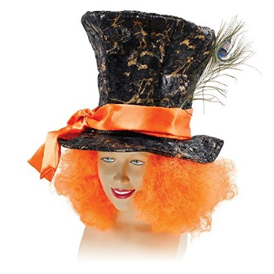 Mad Hatter with Orange Hair