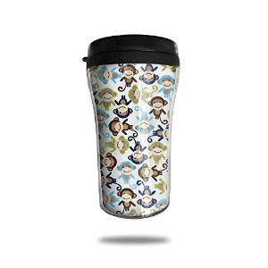 Monkeyステンレススチール真空断熱Leak ProofクラシックWarmerコーヒーマグ真空Drinking Mug Travel Cup with Lids Small for...