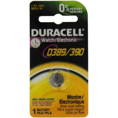 Duracell SR-1130SW - 389/390 Watch/Calculator Battery Sinlge Pack 389/390