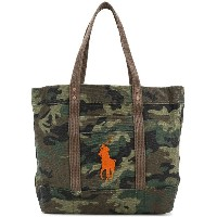 Polo Ralph Lauren camouflage tote bag - グリーン