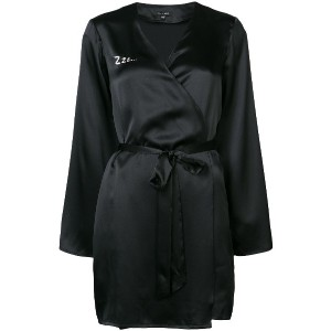 Morgan Lane Zzz Langley robe - ブラック