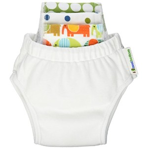 Best Bottom Toddler Potty Training Pants Set - Coconut Small by bestbottom