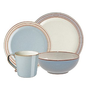 Denby USA HERITAGE 4PieceテラスPlace Setting食器セット TER-16PC