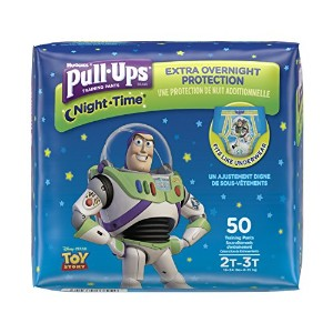 Pull-Ups Night-Time Training Pants for Boys, 2T-3T, 50 Count by Pull-Ups