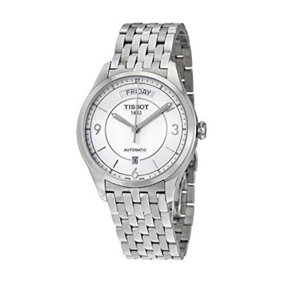 ティソ Tissot 腕時計 メンズ 時計 Tissot Men's T0384301103700 T-one Analog Display Swiss Automatic Silver Watch