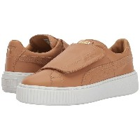 プーマ レディース シューズ・靴 スニーカー【Basket Platform Strap】Apple Cinnamon/PUMA White