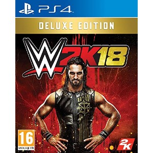 WWE 2K18 Deluxe Edition (PS4) (輸入版)