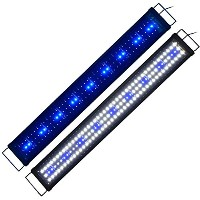 Zeiger アクアリウム ライト 90~115CM 水槽用 LED 魚ライト LED129 熱帯魚観賞魚 水草育成(25W 省エネ)