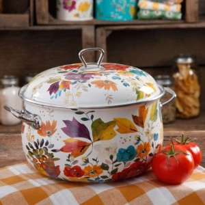 The Pioneer Woman 4-Quart Timeless Floral Casserole with Lid by The Pioneer Woman