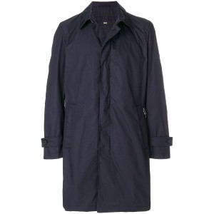 Boss Hugo Boss single breasted coat - ブルー