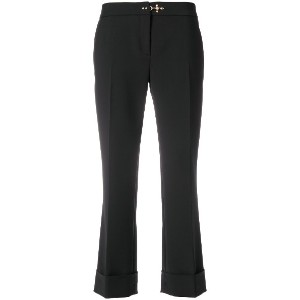 Fay cropped trousers - ブラック