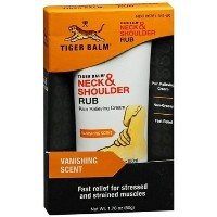(タイガーバーム) Tiger Balm Neck  Shoulder Rub Vanishing Scent 1.76 oz (Pack of 4)-  polo