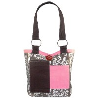 2 Red Hens Hen Chocolate Covered Fabulous Diaper Bag by 2 Red Hens