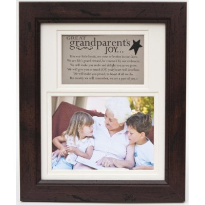 The Grandparent Gift Frame Wall Decor, Great-Grandparent's Joy by The Grandparent Gift