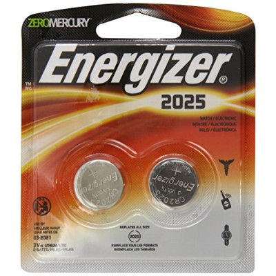 Energizer 2025BP-2 Lithium Button Cell Battery (2 Count) by Energizer [並行輸入品]