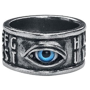 Ouija Eyeリングby Alchemy Gothic , England
