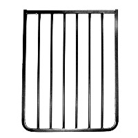 Cardinal Gates 21.75 Extension for Stairway Special Gate and Auto Lock Gate, Black by Cardinal Gates