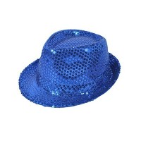 Buckletown Sequined Fedora Hat by boxed-gifts