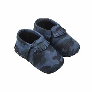 Zerowin Baby Toddler Warm Shoes Pu Leather Tassels Camouflage Prewalker Spring Summer Boots Soft...