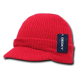 Decky 605-RED GI Jeep Caps, Red