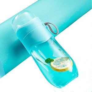 Girls飲料水ボトルカップル旅行マグカップTea Infuser – TeaタンブラーTea Cup with Loose Leaf Tea Strainer – Fruit Infuser –...