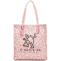 Coach Coach X Keith Haring tote - ピンク&パープル