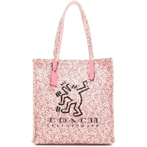 Coach Coach X Keith Haring トートバッグ - ピンク